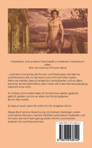 Prinzen und andere Fabelwesen - Buchrücken